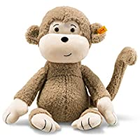 Steiff Soft Cuddly Friends,浅棕色布朗尼猴子,16 英寸(约 40.6 厘米)