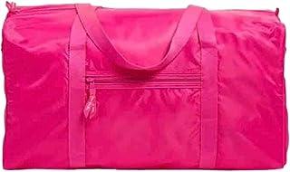 Vera Bradley 牡丹粉色可收纳行李袋