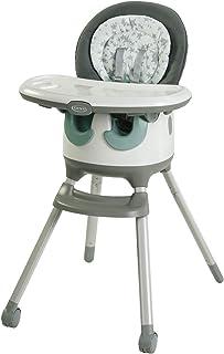 Aprica 阿普丽佳 婴儿椅(7Way)地板两餐桌 配合宝宝成长的使用椅和桌子 欧斯车灰(GR)5个月~ 2090856