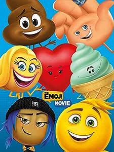Pyramid International The Emoji 电影(人物) - 帆布画 60 x 80 厘米,木质,多色,60 x 80 x 1.3 厘米