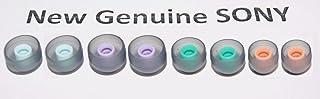 正品替换耳塞套,适用于 SONY 游泳耳塞,小号,中号,大号,X-大号,适用于 NW-WS413,WS414,W273S,WS613 防水耳机 - 共 8 件(4 对)