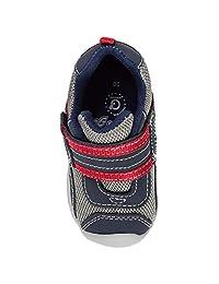 Pediped 派迪派 Grip 'N' Go系列 婴童 学步鞋 Adrian Navy Grey Red GG1047-NVGRRD-18 海军蓝/多色 18
