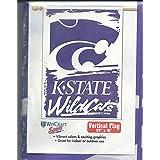 堪萨斯州立大学 KSU 野猫队紫色白色球队户外/尾板旗/横幅 68.58 厘米 x 104.14 厘米