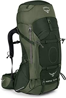 Osprey S17 男式 苍穹 Aether 70 耐用户外徒步穿越登山越野双肩重装背包反重力背负系统带防雨罩轻量背包