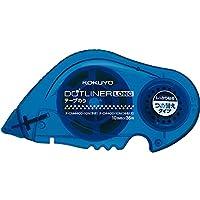 KOKUYO 国誉 D4400-10 36m*10mm 超长型双面粘胶带替芯 点点胶替换带 蓝色(适用DM4400/430)