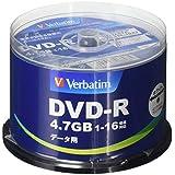 三菱化学媒体 Verbatim DVD-R(Data) 50枚