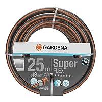 Gardena SuperFLEX 优质花园软管 19mm(3/4寸),25m: 带动力手柄型材,35bar爆破压力,高柔韧性,尺寸稳定,抗紫外线(18113-20)