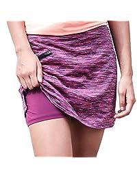 ryandrew 女士轻便运动裙跑步网球高尔夫锻炼休闲
