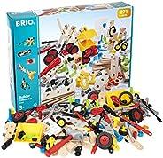 BRIO 搭建玩具 34589-创意玩具套装-271件建筑套装 STEM玩具,配有木质和塑料件,适用于3岁及以上的孩子