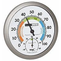 TFA Dostmann 温湿度计 白色/灰色 120×37×120 厘米 45.2042.50