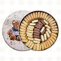 珍妮曲奇(JennyBakery)小熊饼干 手工制造 (八味, 700g)