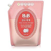 韩国 B&B 保宁 纤维洗涤剂(香草香) 补充装1300ml