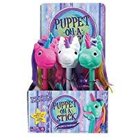 Educational Insights 彩虹棱镜 Puppet-on-a-Stick 派对套装 9 件装