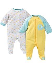 Gerber 嘉宝 睡觉&玩耍 男童连体睡衣,两件套