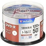 三菱化学媒体 Verbatim 1次录像用DVD-R(CPRM) VHR12J50VS1 (单面1层/1-16倍速/50张)