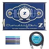 云麦克风 Cloudlifter CL-Z 麦克风激活器 - 包括 - Blucoil Audio 10 英尺平衡 XLR 公/母电缆和 5 个电缆带