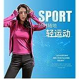 秋冬季瑜伽服晨跑装备运动套装女跑步健身房五件套速干衣背心长裤