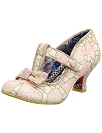 Irregular Choice 女式懒洋河 T 型高跟鞋