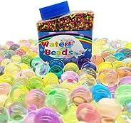 Filler 50000 PCS 水珠,成长彩虹混合水果冻珠,水晶土壤,适合儿童老年人玩具,水疗补充,花瓶,植物,DIY 抗应力球,*,8.82盎司(约238.8克)