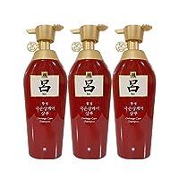 RYOE 吕 红吕 染烫修复损伤洗发水500ml* 3(韩国品牌)