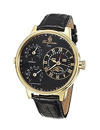 Burgmeister 伯格麦斯特 德国品牌 机械手表 男士腕表 温度计、湿度计、多功能腕表 bm309-222(亚马逊自营商品, 由供应商配送)