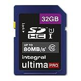 integral ultimapro 16GB SDHC CLASS 10闪存