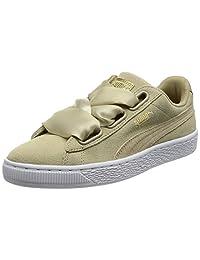 PUMA 女士 Suede Heart Safari 运动鞋