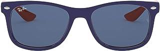 Ray-Ban unisex-child Rj9052s New Wayfarer Kids Sunglasses Wayfarer Sunglasses