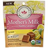 Traditional Medicinals Mother's Milk Lemon Chews, 14 Count (Pack of 6)