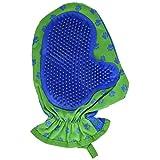 Pawrific 宠物宠物*手套 蓝色/绿色 1-包每包 1 条