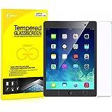 美国 JETech 苹果iPad Air 1 2(iPad 5/iPad 6)iPad Pro 9.7 贴膜 玻璃膜 钢化膜 高清防划保护膜 带摄像孔切口 适用于Apple iPad Air 1/2、iPad Pro 9.7英寸 - 0338