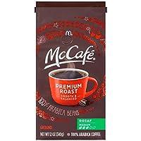 mccafe 咖啡浓缩咖啡,高级中号烤,12盎司,mccafe 咖啡色