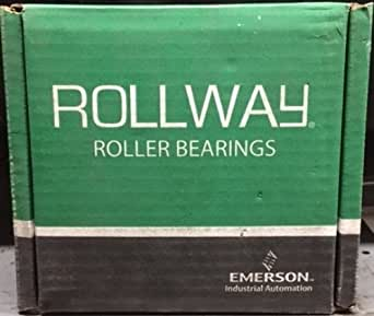 Rollway B-217-44-70 日志滚柱轴承,外环和滚柱组件,5.25 英寸内径,5.9 英寸外径,2.84 英寸宽