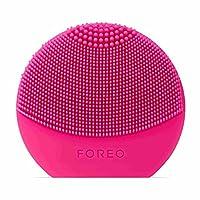 FOREO LUNA Play Plus,便携式洁面刷,紫红色,可更换电池和防水的护肤设备