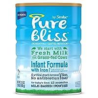 Similac 雅培 Pure Bliss 嬰兒配方奶粉 適用年齡:0-12月 4罐裝 900g * 4 (來自草飼奶牛的新鮮牛奶, Non-GMO)