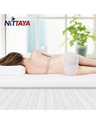 中国亚马逊: Nittaya 泰国天然乳胶床垫 7.5公分 1.8米 送2个乳胶枕 ¥2279
