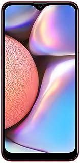 "Samsung Galaxy A10s(32GB、2GB RAM)6.2"" HD+ Infinity-V 显示屏,13MP+2MP 双后摄像头+8MP 前置摄像头 - 4G LTE 双 SIM GSM 工厂未锁 A107M/DS(缎面规格)A10 32 GB 红色"