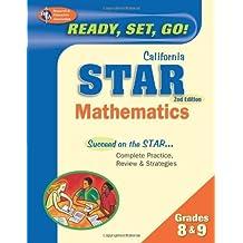 California STAR Grades 8 & 9 Math (California STAR Test Preparation) (English Edition)