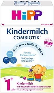 Hipp 喜宝 Combiotik 1+ 有机益生菌幼儿配方奶粉 适合1岁龄以上 4 x 600 g (新老包装 随机发货)