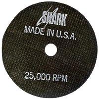 鲨鱼焊接 13152 鲨鱼切割轮 12.7 厘米 x 1.27 厘米 x 2.22 厘米 1-包每包 1 条 13152