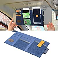 SunTrade 汽车通用遮阳板收纳袋,CD 遮阳板收纳袋,汽车遮阳板纸袋,PU 皮 Style 5