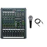 Mackie PROFX8V2 8 通道紧凑型混音器带 USB 和效果,附带麦克风和电缆