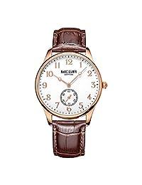 MEGIR 美格尔 WISDOM 睿智系列 石英男士手表 时尚小表盘 皮带 ME061