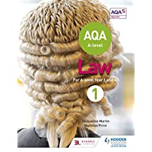 AQA A-level Law for Year 1/AS (A Level Law) (English Edition)