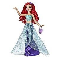 Disney Princess Style 系列,Ariel 玩偶现代风格带钱包和鞋子