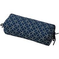 旺兹康塞特 颈枕 24×47×12cm 炭*枕 推荐*环境寝具指导士的丹波产竹炭 日本制造 藏青色 サイズ:24×47×12cm -