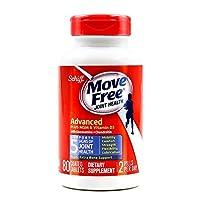 Schiff Movefree 旭福 维骨力氨糖软骨素钙加维D蓝瓶修复版 80粒/瓶 多元修复骨关节 缓解疼痛 促进钙吸收 美国进口 包税