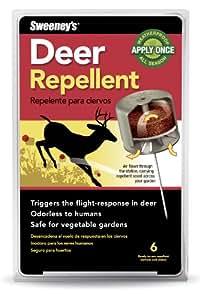 Sweeney's Deer 驱虫剂,6 个诱饵站 S56006(不是北美地区提供) 1包 B001UL62UK
