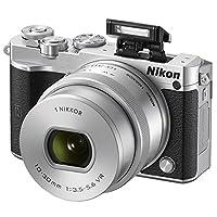 Nikon 尼康 1 J5 单电套机(1尼克尔 VR 10-30mm f/3.5-5.6 PD镜头)(银色)