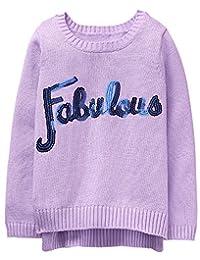 Gymboree 女童 Little Sequin Popover 毛衣
